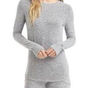 Women's Soft Knit Long-Sleeve Layering Top
